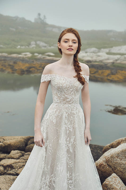 Calla Blanche L'amour 20121 Dress - White Satin Bridal Boutique Ottawa - Designer & Luxury Wedding Gown - Off the rack & custom order - Bridal Seamstress