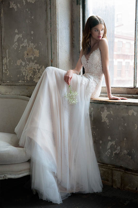 Ti Adora Rosie Dress - White Satin Bridal Boutique Ottawa - Designer & Luxury Wedding Gown - Off the rack & custom order - Bridal Seamstress