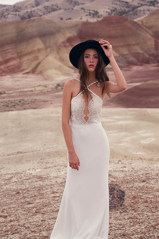 Espinosa Dress - Willowby by Watters - White Satin Bridal Boutique Ottawa - Designer & Luxury Wedding Gown - Off the rack & custom order - Bridal Seamstress