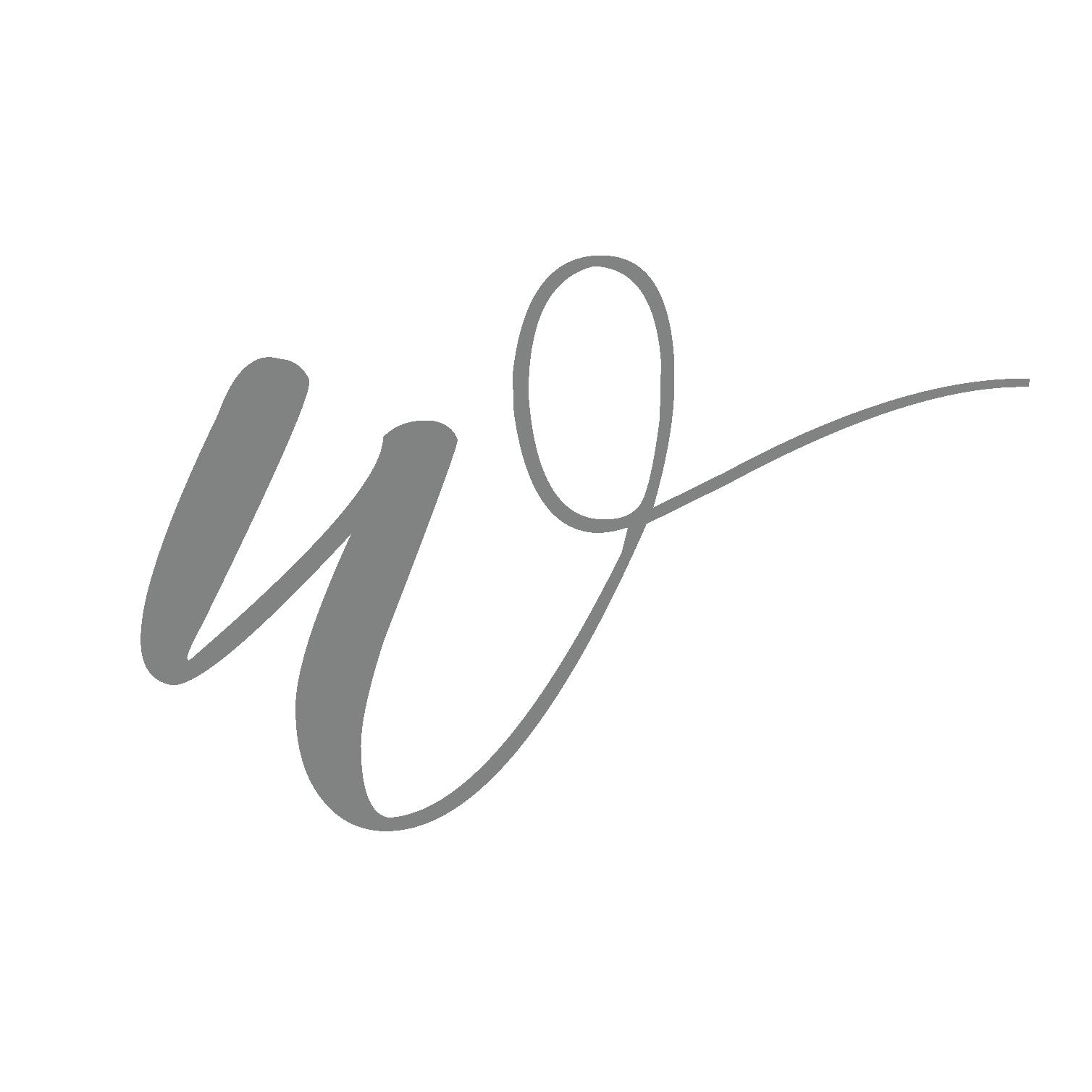 Grey Icon Logo - White Satin Bridal Boutique Ottawa - Designer & Luxury Wedding Gown