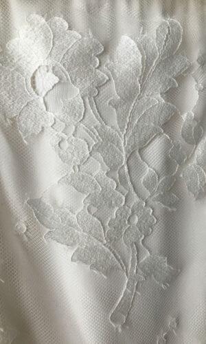 Brooke Close Up Hayley Paige - White Satin Bridal Boutique Ottawa - Designer & Luxury Wedding Gown - Off the rack & custom order - Bridal Seamstress