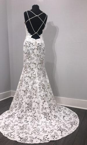 Cali Back Hayley Paige - White Satin Bridal Boutique Ottawa - Designer & Luxury Wedding Gown - Off the rack & custom order - Bridal Seamstress