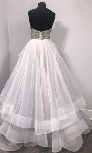 Josie Back Hayley Paige - White Satin Bridal Boutique Ottawa - Designer & Luxury Wedding Gown - Off the rack & custom order - Bridal Seamstress