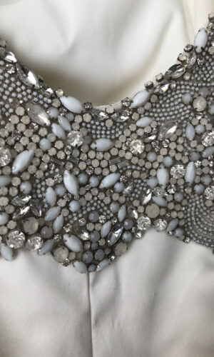 Kollender Close Up Hayley Paige - White Satin Bridal Boutique Ottawa - Designer & Luxury Wedding Gown - Off the rack & custom order - Bridal Seamstress