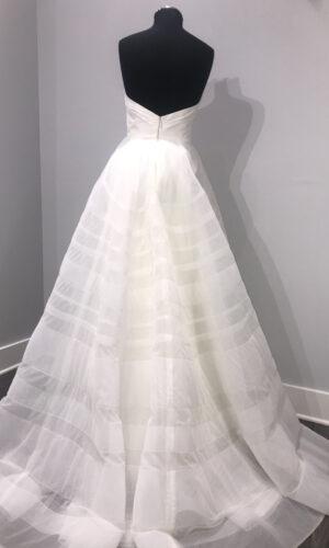 Lily Back Hayley Paige - White Satin Bridal Boutique Ottawa - Designer & Luxury Wedding Gown - Off the rack & custom order - Bridal Seamstress