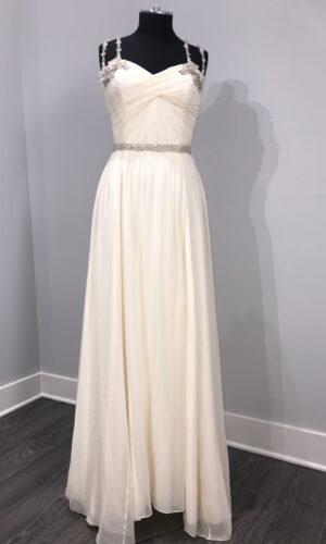Nina Front Hayley Paige - White Satin Bridal Boutique Ottawa - Designer & Luxury Wedding Gown - Off the rack & custom order - Bridal Seamstress