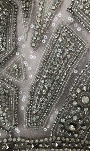 Close Up Roxanne Hayley Paige - White Satin Bridal Boutique Ottawa - Designer & Luxury Wedding Gown - Off the rack & custom order - Bridal Seamstress