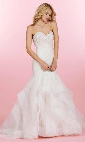 Top Aurora Hayley Paige - White Satin Bridal Boutique Ottawa - Designer & Luxury Wedding Gown - Off the rack & custom order - Bridal Seamstress