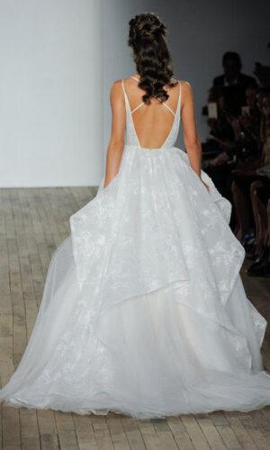 Kellan Back Hayley Paige - White Satin Bridal Boutique Ottawa - Designer & Luxury Wedding Gown - Off the rack & custom order - Bridal Seamstress
