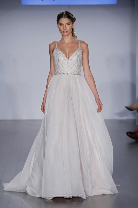 Front Roxanne Hayley Paige - White Satin Bridal Boutique Ottawa - Designer & Luxury Wedding Gown - Off the rack & custom order - Bridal Seamstress