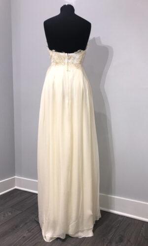 Back Clementine by Sarah Seven - White Satin Bridal Boutique Ottawa - Designer & Luxury Wedding Gown - Off the rack & custom order - Bridal Seamstress