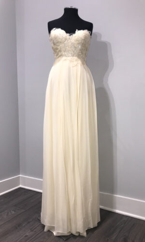 Front Clementine by Sarah Seven - White Satin Bridal Boutique Ottawa - Designer & Luxury Wedding Gown - Off the rack & custom order - Bridal Seamstress