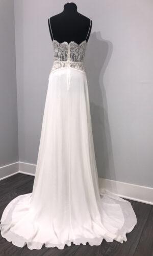 Back Highness by Sarah Seven - White Satin Bridal Boutique Ottawa - Designer & Luxury Wedding Gown - Off the rack & custom order - Bridal Seamstress