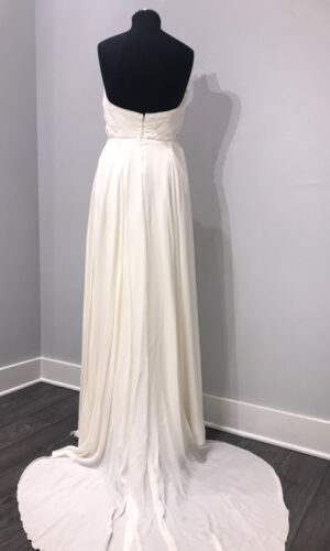 Back Keats by Sarah Seven - White Satin Bridal Boutique Ottawa - Designer & Luxury Wedding Gown - Off the rack & custom order - Bridal Seamstress