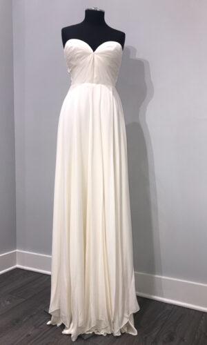 Front Keats by Sarah Seven - White Satin Bridal Boutique Ottawa - Designer & Luxury Wedding Gown - Off the rack & custom order - Bridal Seamstress