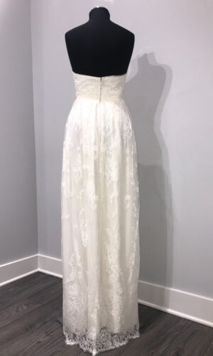 Back Swell by Sarah Seven - White Satin Bridal Boutique Ottawa - Designer & Luxury Wedding Gown - Off the rack & custom order - Bridal Seamstress