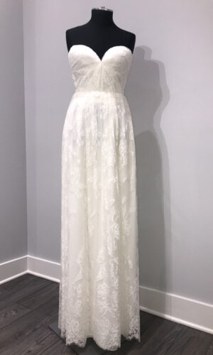 Front Swell by Sarah Seven - White Satin Bridal Boutique Ottawa - Designer & Luxury Wedding Gown - Off the rack & custom order - Bridal Seamstress