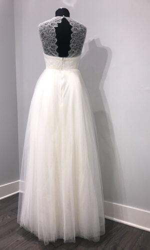 Back Wilde by Sarah Seven - White Satin Bridal Boutique Ottawa - Designer & Luxury Wedding Gown - Off the rack & custom order - Bridal Seamstress