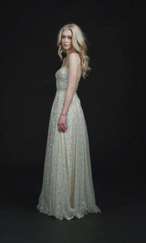 Back Soho by Sarah Seven - White Satin Bridal Boutique Ottawa - Designer & Luxury Wedding Gown - Off the rack & custom order - Bridal Seamstress