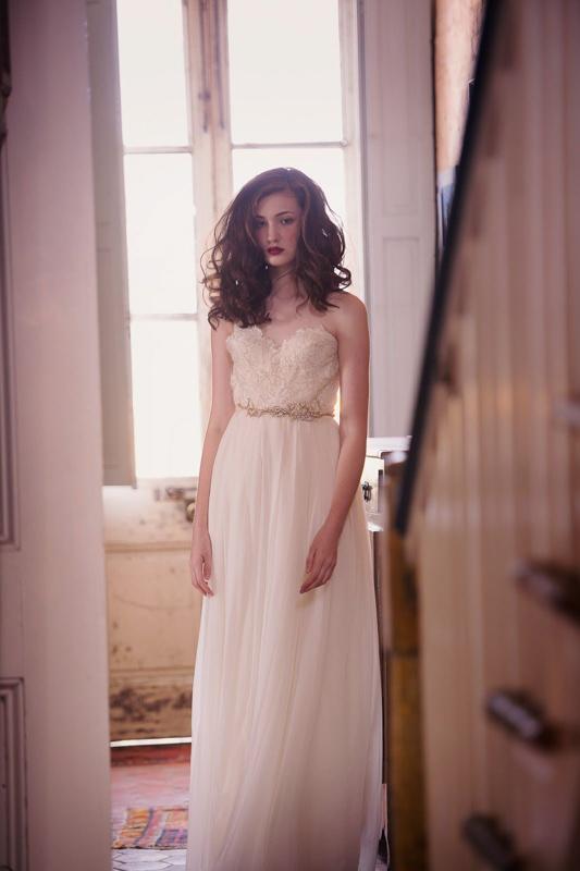 Clementine Front xby Sarah Seven - White Satin Bridal Boutique Ottawa - Designer & Luxury Wedding Gown - Off the rack & custom order - Bridal Seamstress