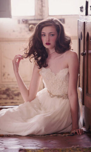 Zoomed Clementine by Sarah Seven - White Satin Bridal Boutique Ottawa - Designer & Luxury Wedding Gown - Off the rack & custom order - Bridal Seamstress