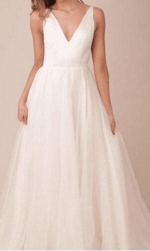 Lorelei by Sarah Seven - White Satin Bridal Boutique Ottawa - Designer & Luxury Wedding Gown - Off the rack & custom order - Bridal Seamstress