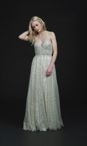 Front Soho by Sarah Seven - White Satin Bridal Boutique Ottawa - Designer & Luxury Wedding Gown - Off the rack & custom order - Bridal Seamstress