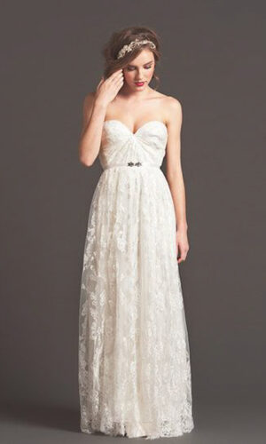 Swell Front by Sarah Seven - White Satin Bridal Boutique Ottawa - Designer & Luxury Wedding Gown - Off the rack & custom order - Bridal Seamstress