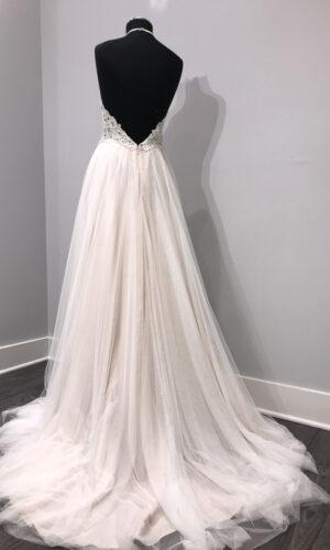 Back Esperance by Willowby - White Satin Bridal Boutique Ottawa - Designer & Luxury Wedding Gown - Off the rack & custom order - Bridal Seamstress