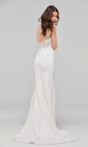 Back Haizea by Willowby - White Satin Bridal Boutique Ottawa - Designer & Luxury Wedding Gown - Off the rack & custom order - Bridal Seamstress