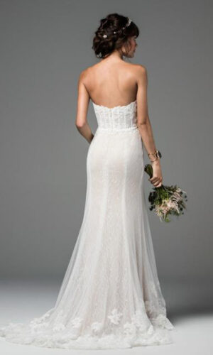 Back Liberty by Willowby - White Satin Bridal Boutique Ottawa - Designer & Luxury Wedding Gown - Off the rack & custom order - Bridal Seamstress