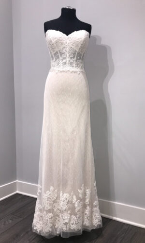 Front Liberty by Willowby - White Satin Bridal Boutique Ottawa - Designer & Luxury Wedding Gown - Off the rack & custom order - Bridal Seamstress