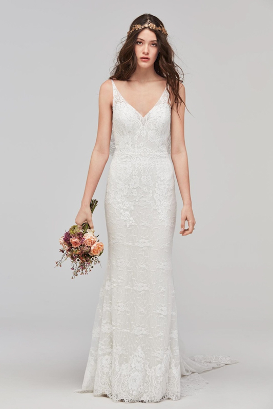 Front Papella by Willowby - White Satin Bridal Boutique Ottawa - Designer & Luxury Wedding Gown - Off the rack & custom order - Bridal Seamstress