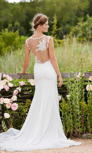 Back Rosalie by Willowby - White Satin Bridal Boutique Ottawa - Designer & Luxury Wedding Gown - Off the rack & custom order - Bridal Seamstress