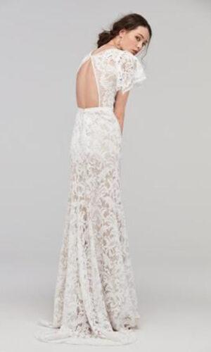 Back Udara by Willowby - White Satin Bridal Boutique Ottawa - Designer & Luxury Wedding Gown - Off the rack & custom order - Bridal Seamstress