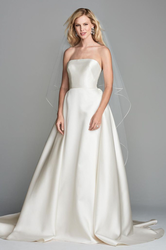Front Atlee by Wtoow by Watters - White Satin Bridal Boutique Ottawa - Designer & Luxury Wedding Gown - Off the rack & custom order - Bridal Seamstress