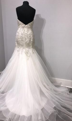 Back Vega by Wtoow by Watters - White Satin Bridal Boutique Ottawa - Designer & Luxury Wedding Gown - Off the rack & custom order - Bridal Seamstress