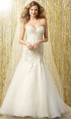 Vega Front by Wtoow by Watters - White Satin Bridal Boutique Ottawa - Designer & Luxury Wedding Gown - Off the rack & custom order - Bridal Seamstress