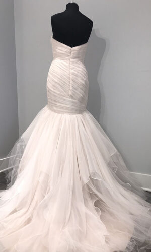 Back Front Alvina Valenta 9706 - White Satin Bridal Boutique Ottawa - Designer & Luxury Wedding Gown - Off the rack & custom order - Bridal Seamstress