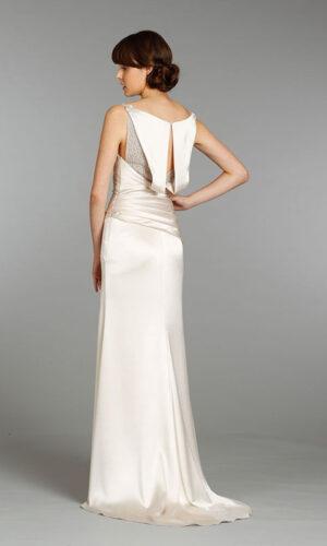 Alvina Valenta 9367 - White Satin Bridal Boutique Ottawa - Designer & Luxury Wedding Gown - Off the rack & custom order - Bridal Seamstress
