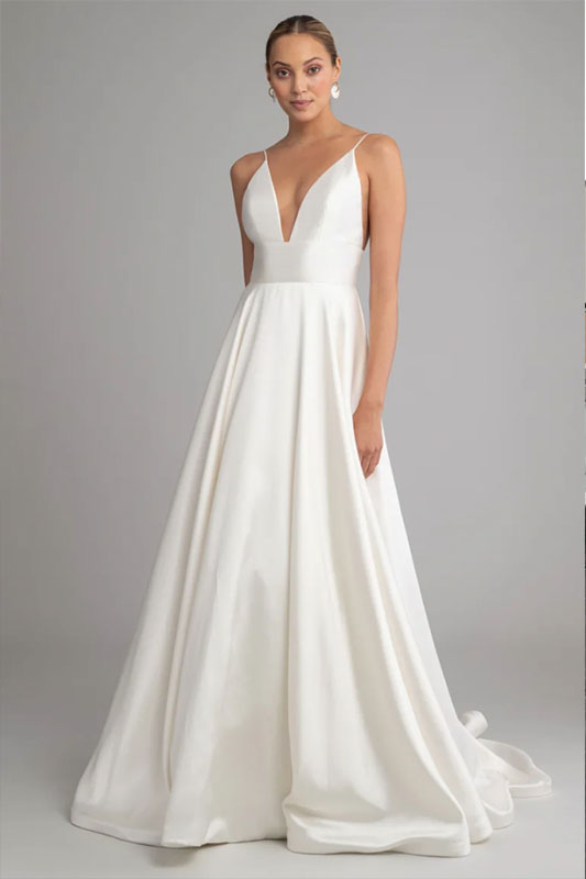 Jenny Yoo Straps - White Satin Bridal Boutique Ottawa - Designer & Luxury Wedding Gown - Off the rack & custom order - Bridal Seamstress