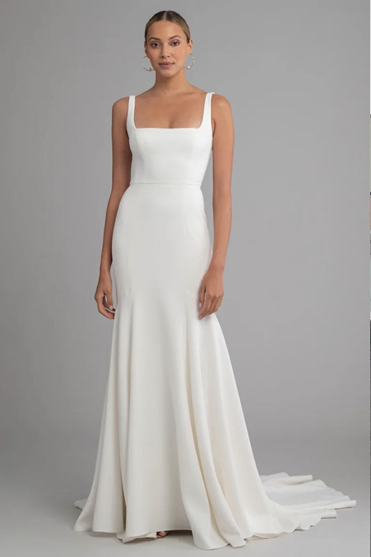 Jenny Yoo 2 - White Satin Bridal Boutique Ottawa - Designer & Luxury Wedding Gown - Off the rack & custom order - Bridal Seamstress