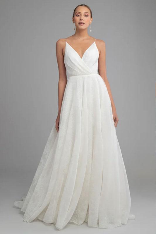 Jenny Yoo 3 - White Satin Bridal Boutique Ottawa - Designer & Luxury Wedding Gown - Off the rack & custom order - Bridal Seamstress