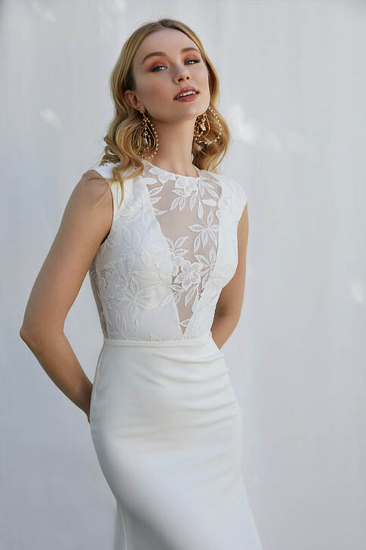 Scout by Sarah Seven 2 - White Satin Bridal Boutique Ottawa - Designer & Luxury Wedding Gown - Off the rack & custom order - Bridal Seamstress